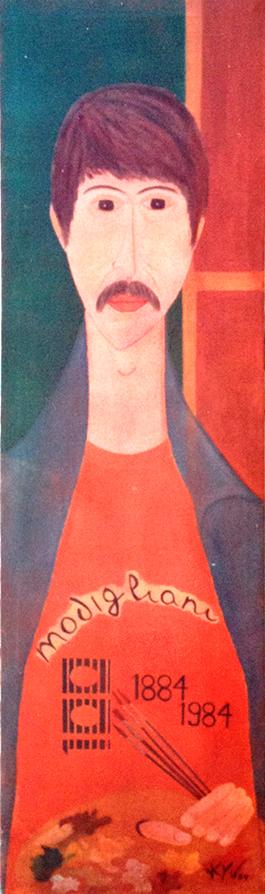 Modigliani - ano 1984