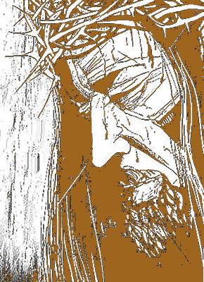 Referência Cristo - entalhe em pinho 20 x 40 - Ano 1972