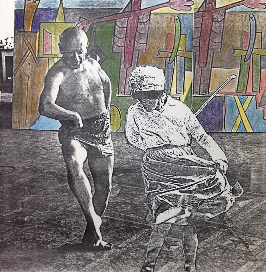 Dona Isa e Picasso