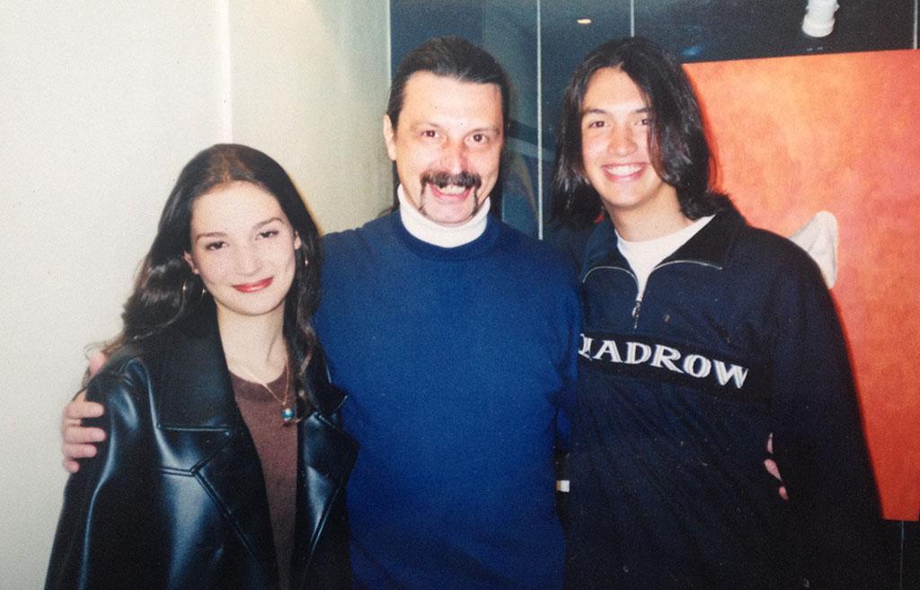 Lilian, Mario e Leonardo Valdanini