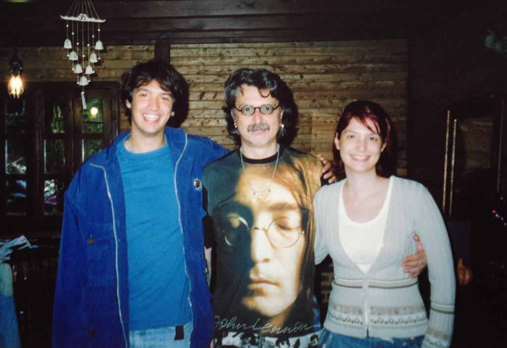 Leonardo, Lilian e Mario Valdanini
