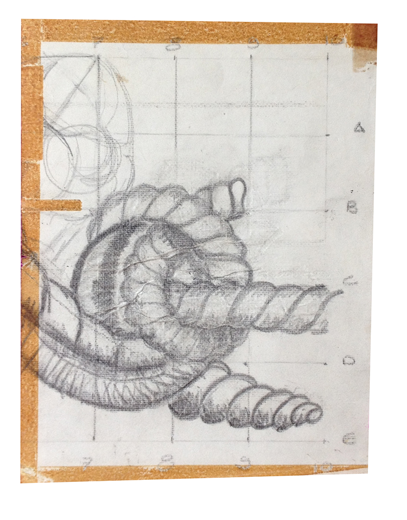 Estudo mural - AV. Euterpe Friburguense - ano 1989